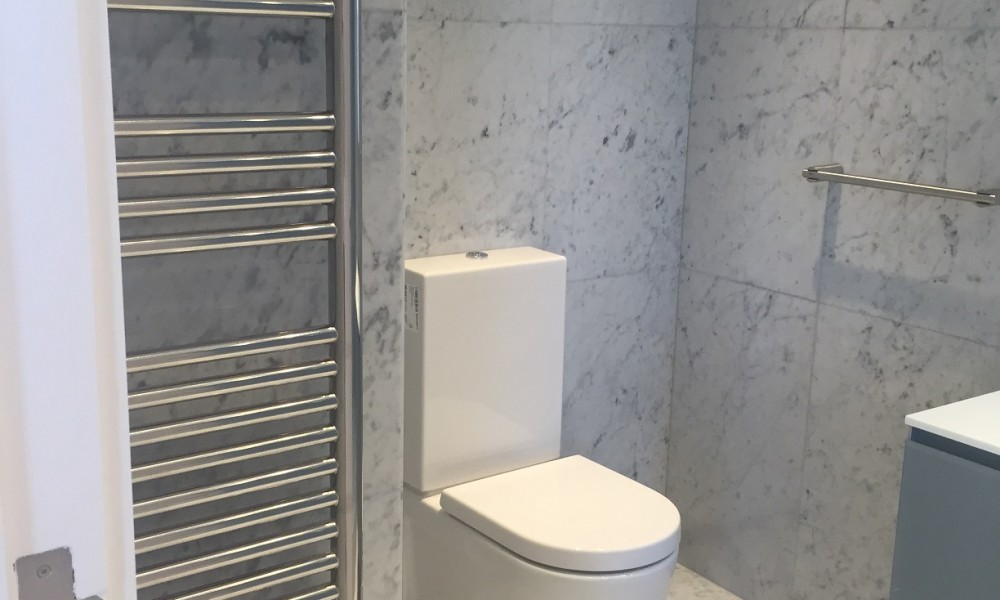 Toilet completion